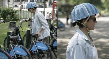Un casco de papel por tan solo 1,2 € y que cumple las normas de seguridad
