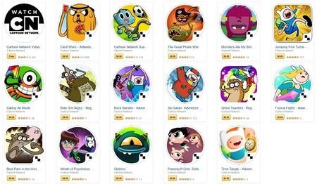 Cartoon Network pone en oferta todos sus juegos en Amazon