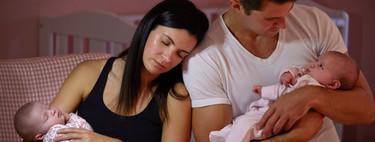 En el primer año del bebé, los padres pierden más de 700 horas de sueño