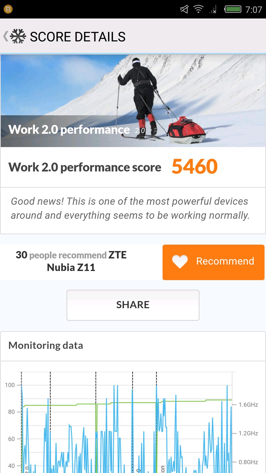 Foto de Nubia Z11, benchmarks (20/31)