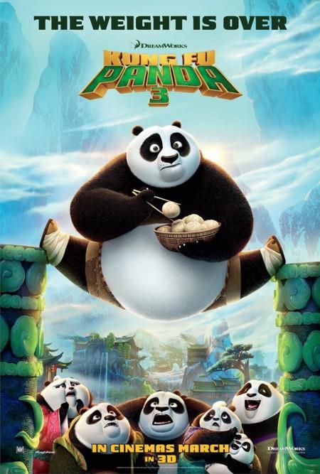 Cartel de Kung Fu Panda 3
