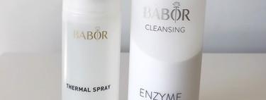 Ponemos a prueba el (increíble) limpiador enzimático y el agua termal de Babor, las últimos fichajes de la marca que han venido para quedarse