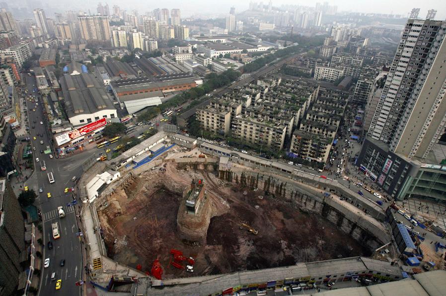 Nail Houses China 3