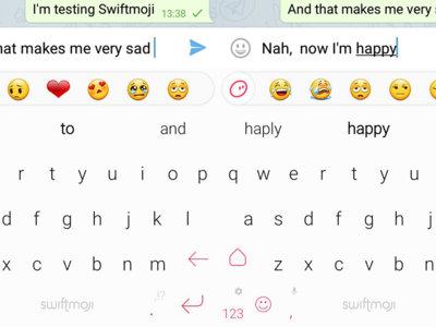 Swiftmoji es el nuevo teclado que predice los emoji que necesitas