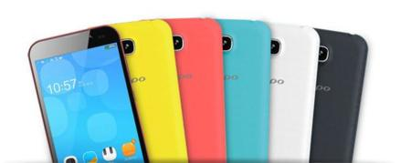 Gama de colores Zopo ZP700