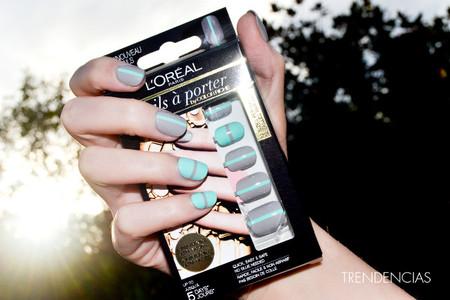Te contamos nuestra experiencia con las Nails à Porter de L'Oréal, nail-art de quita y pon