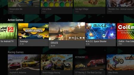Google Play para Android TV ahora hace más fácil encontrar apps y juegos compatibles
