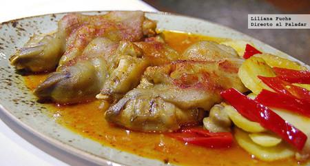 Restaurante Casa Pedro. Manitas de cerdo