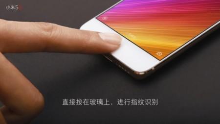 Xiaomi Mi 5s Lector Huellas
