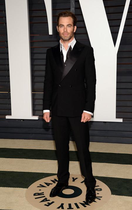 Chris Pine, diferente pero guapísimo