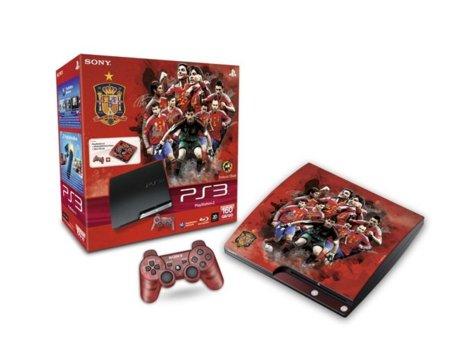 PlayStation y la Selección Española de fútbol: la PS3 se viste de rojo