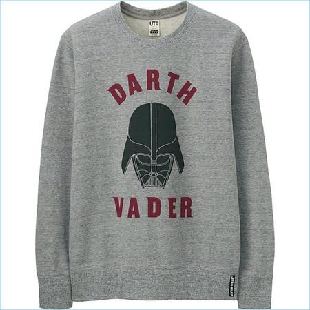 Uniqlo Star Wars Darth Vader Sweatshirt