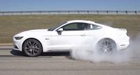Así funciona el sistema automático de burnout del Ford Mustang 2014