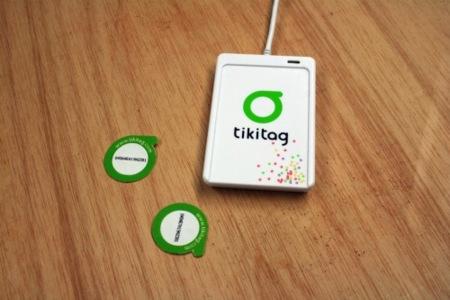 Tikitag, etiquetas RFID para tus objetos