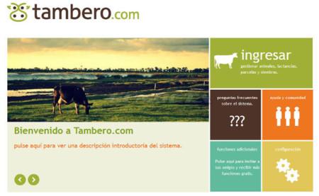Tambero.com, servicio de gestión agropecuaria a través de Internet