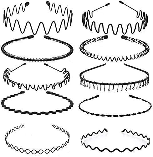 Pack de 10 diademas invisibles