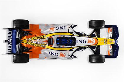 Renault R27, las imágenes oficiales