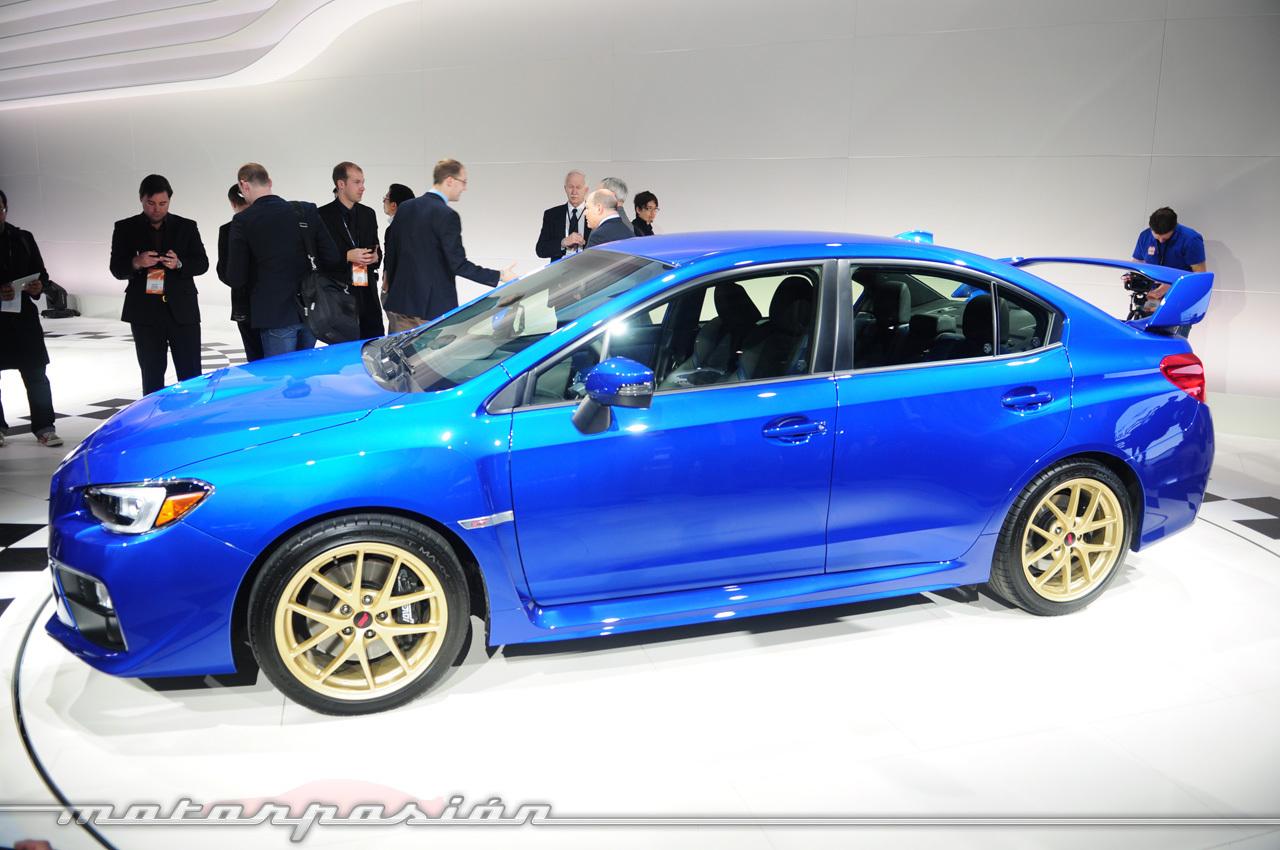 Foto de Subaru WRX STI 2014 (Salón de Detroit) (11/11)