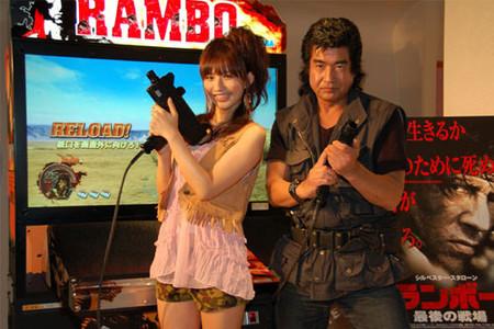 """Vídeo in-game del arcade de 'RAMBO', masacre de """"Charlies"""""""