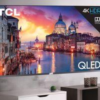 TCL aumenta los televisores que integran la Serie 6: tamaños de 55 y 65 pulgadas en paneles QLED con 4K y Dolby Vision