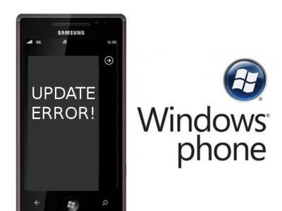 La actualización de Windows Phone 7 inutiliza algunos modelos de móvil