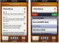 TypeTool, previsualiza fuentes y su diseño desde el iPhone