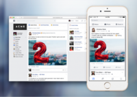 Facebook at Work: Zuckerberg quiere que uses su red social hasta trabajando