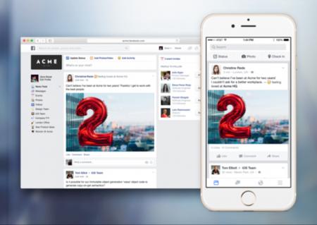 Facebook at Work: Zuckerberg quiere que uses su red social hasta trabajando