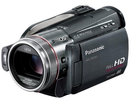 Panasonic HDC-HS350, con 240 GB de espacio de almacenamiento
