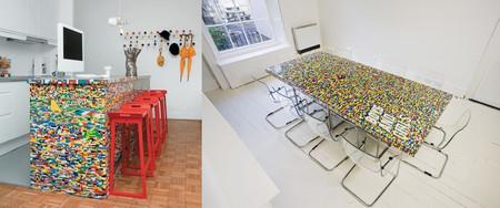 Los 17 mejores proyectos decorativos hechos con piezas de LEGO
