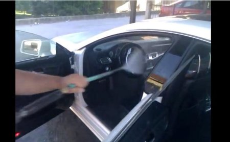 Dolorpasion™: Como no lavar un Mercedes-Benz CLS 350