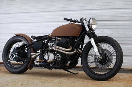 Honda CB 750 cafe style, o como estropear la moto con un detalle