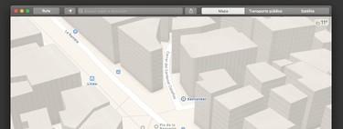 Cómo ver la interfaz clara de Mapas en el modo oscuro de macOS Mojave