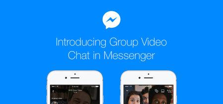 Facebook va a por Skype y Hangouts añadiéndole a Messenger videollamadas grupales