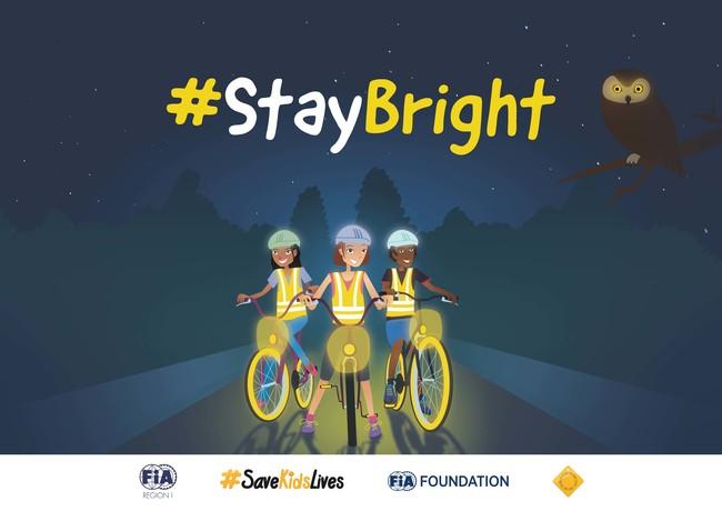 """Campaña """"Déjate ver"""": porque los niños son los que menos se ven en la carretera"""