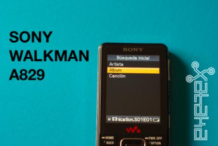 Sony Walkman A829, lo hemos probado