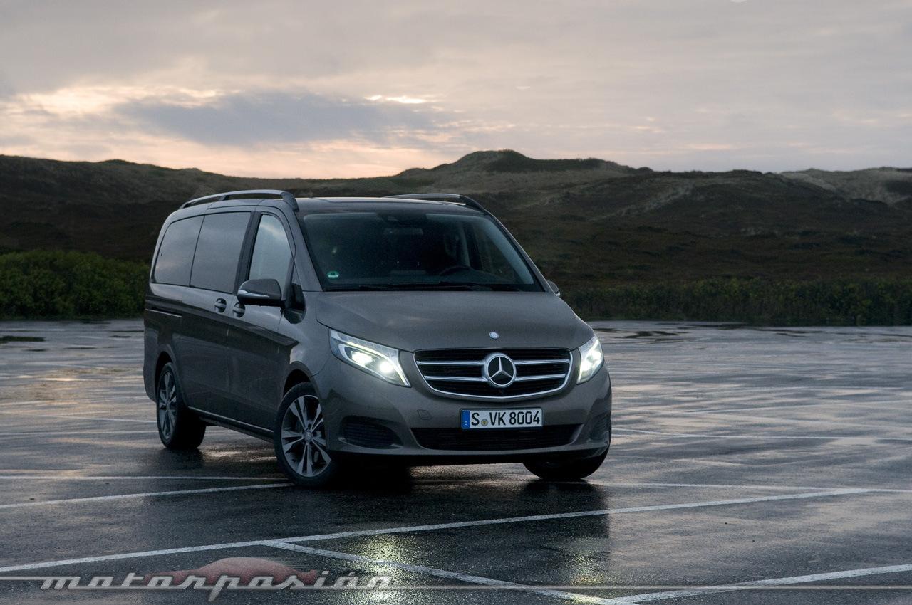 Foto de Mercedes-Benz Clase V (toma de contacto) (2/44)