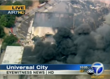 Abc 7 On The Universal Vault Fire In 2008