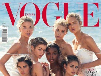 ¿Es el nuevo catálogo de Victoria's Secret? No, es la nueva portada de Vogue España