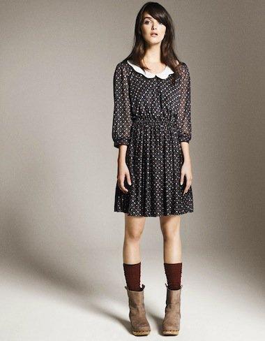 Zara Otoño-Invierno 2010/2011, vestido naif
