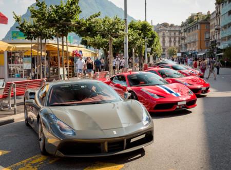 Cars & Coffee Ferrari 488 GTB
