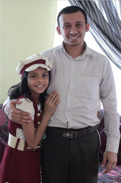 Nada Al - Ahdal: la niña que quiere escapar de un matrimonio forzado y seguir viviendo su infancia