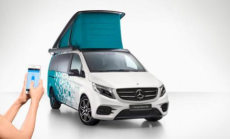 Conectividad y cero emisiones: así serán las futuras furgonetas camper de Mercedes-Benz