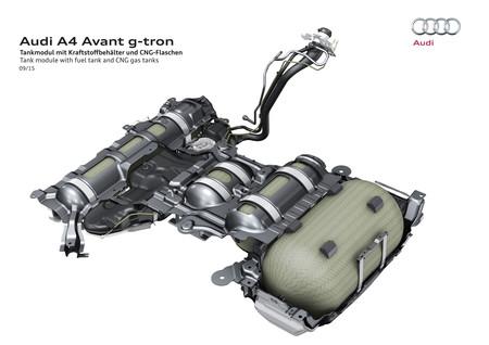 Audi A4 Avant g-tron y A5 Sportback g-tron