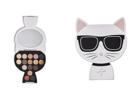 Paleta Choupette Collectable Eyeshadow Palette Day To Night By Karl Lagerfeld Modelco