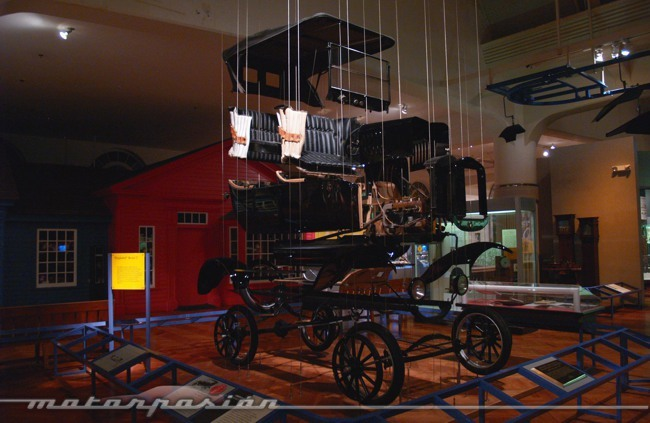 Henry Ford Museum Ford Model T despiezado