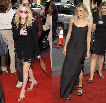 Las Olsen en la premiere de The Hangover
