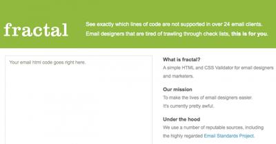 Fractal te hace la vida más fácil: te valida el código de tus emails