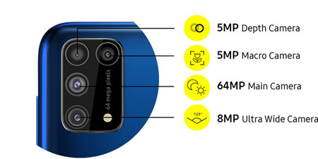 Samsung Galaxy M31 Oficial Mexico Precio Camaras