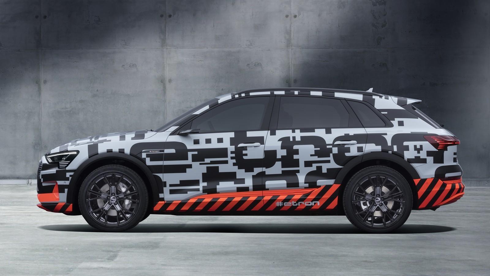 Foto de Audi e-tron prototype (3/21)